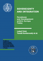 Tichy, L. and Dumbrovsky, T. (eds) Sovereignty and Competences of the European Union. Charles University, Prague 2010.