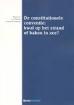 Constitutionele Conventies in de Europese Unie en de Benoeming van de Europese Commissie: Kans of Bedreiging?