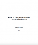 Losers in Trade: Economics and Normative Justifications.