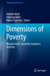 Dimensions of Poverty Measurement, Epistemic Injustices, Activism.